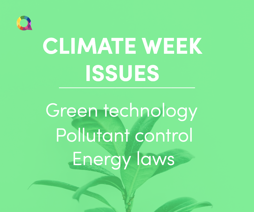 climate week benefits