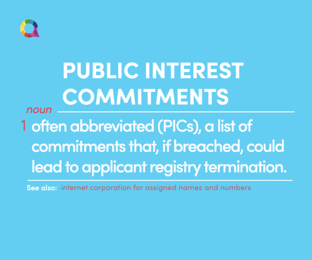 what are public interest commitments