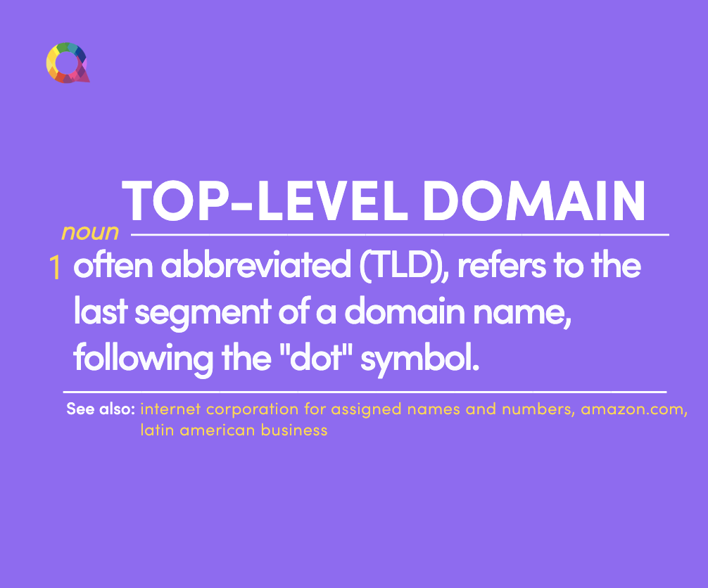 what is a top level domain
