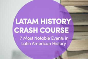 latin american history timeline