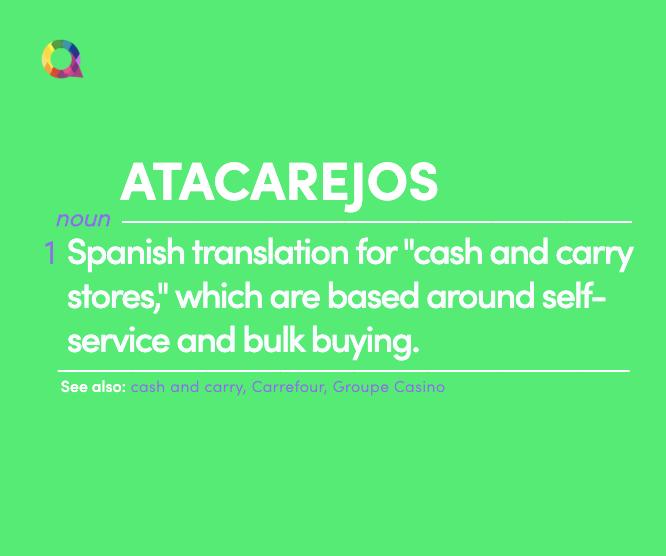 what are atacarejos