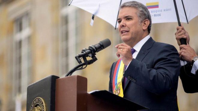 Iván Dugue brings Orange Economy to Colombia
