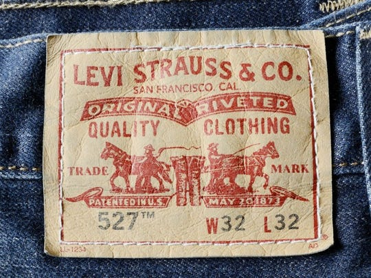 top-selling product levi strauss & co logo