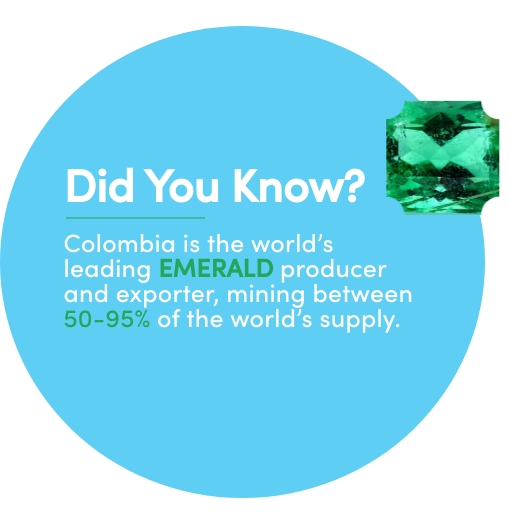 Fact on Colombia exports