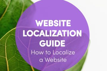 website localization process