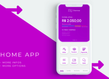 Fintech in Brazil utilizing mobile app