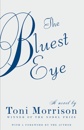 Image of the book cover for The Bluest Eye, which is a social commentary by Toni Morrison that deals with race.